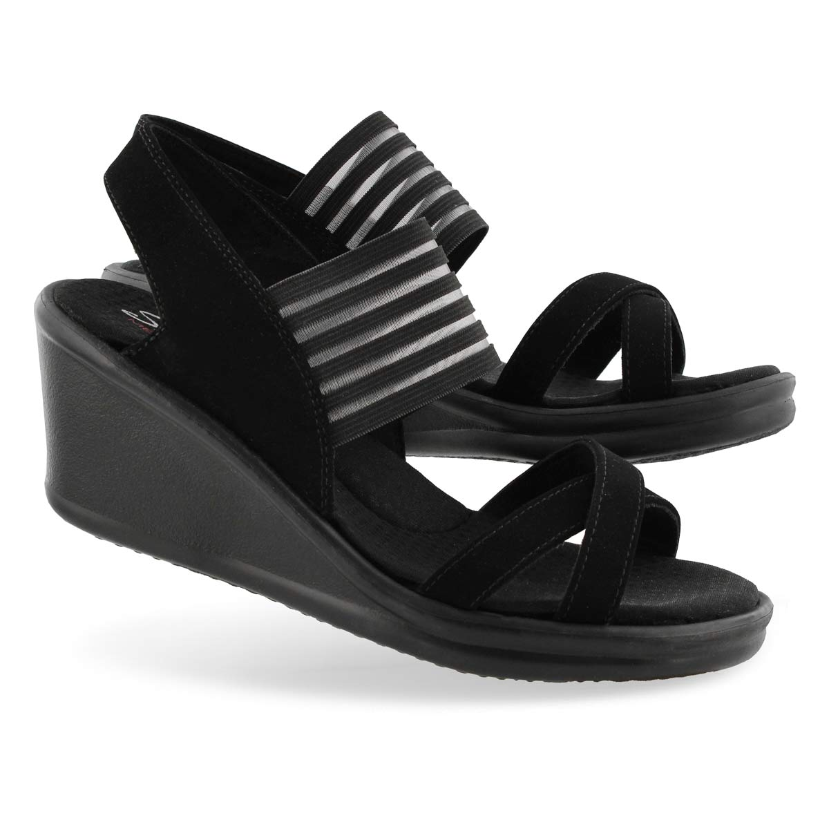 Sandale Rumblers Solar Burst,noir, femme
