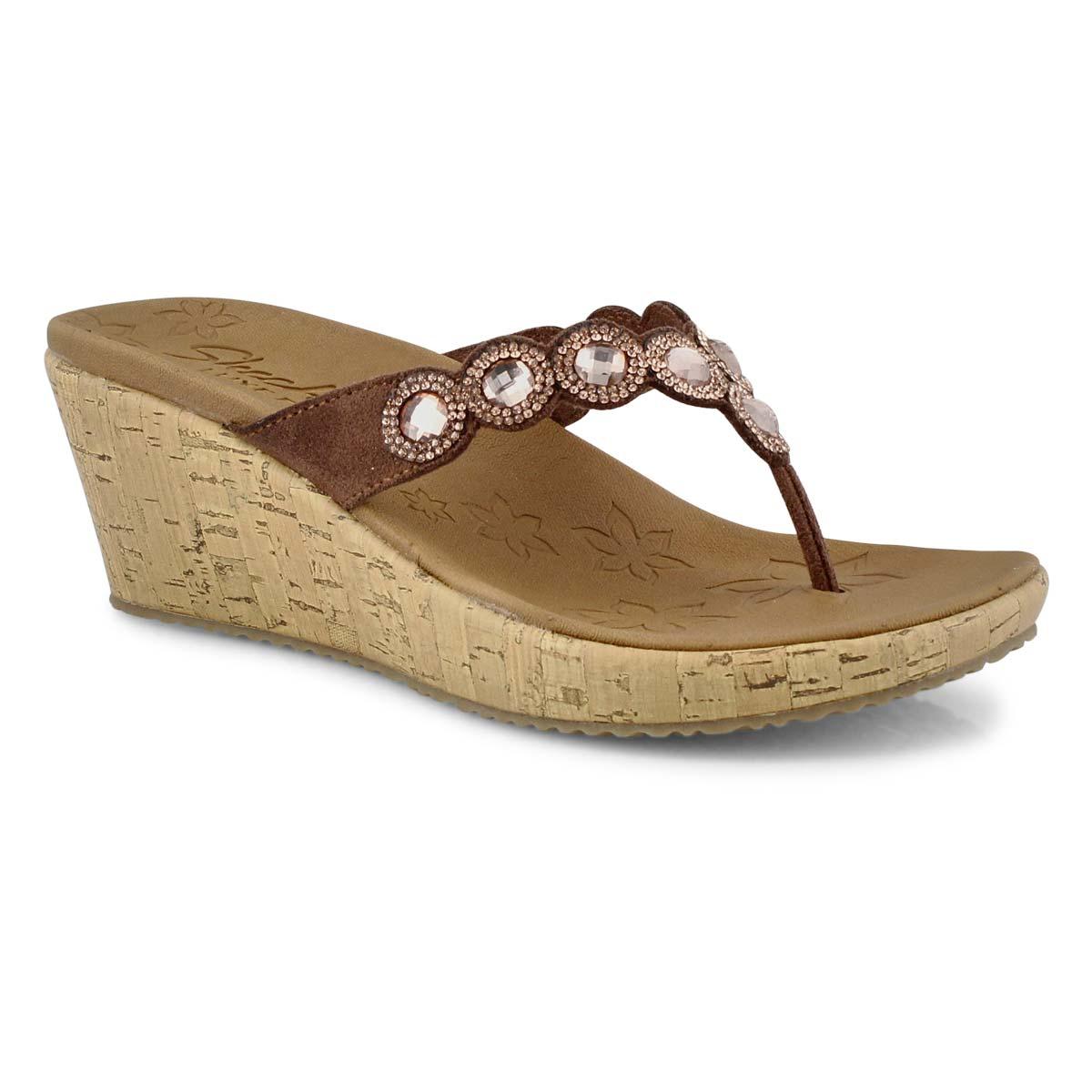 Sandale, BeverleeBizzyBabe, brun, femmes