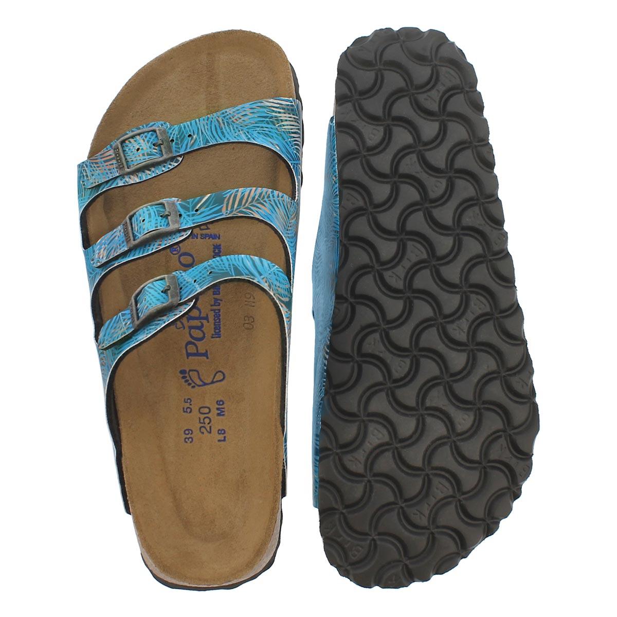 Lds Florida SF tropical leaf sandal