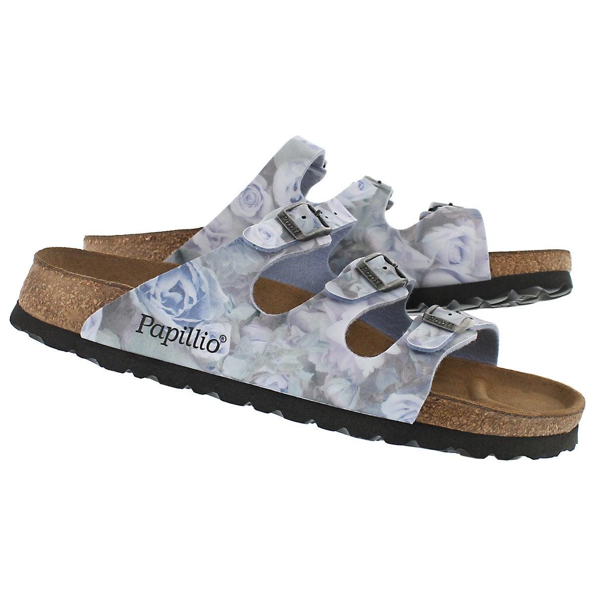 Lds Florida silky rose blue sandal-Narro