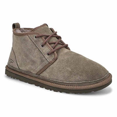 Mns Neumel charcoal lined chukka boot