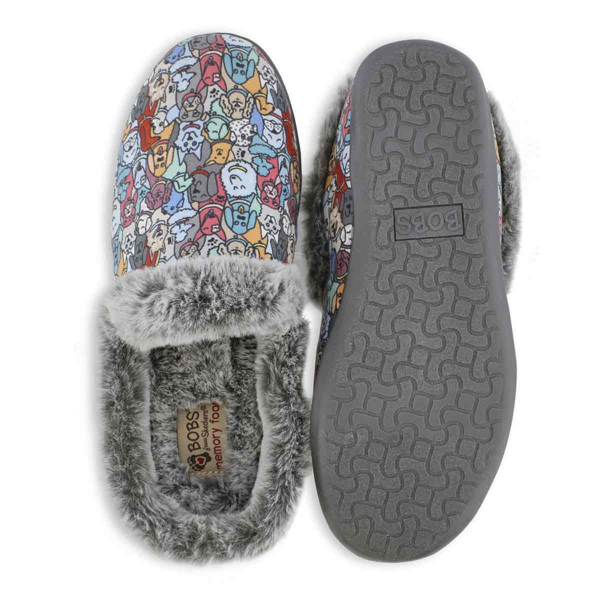 Lds Bobs Beach Bonfire multi slipper