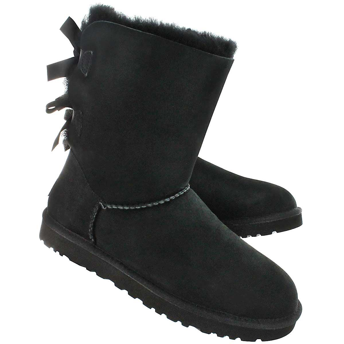 ebec575867b Black Uggs With Bows Tumblr