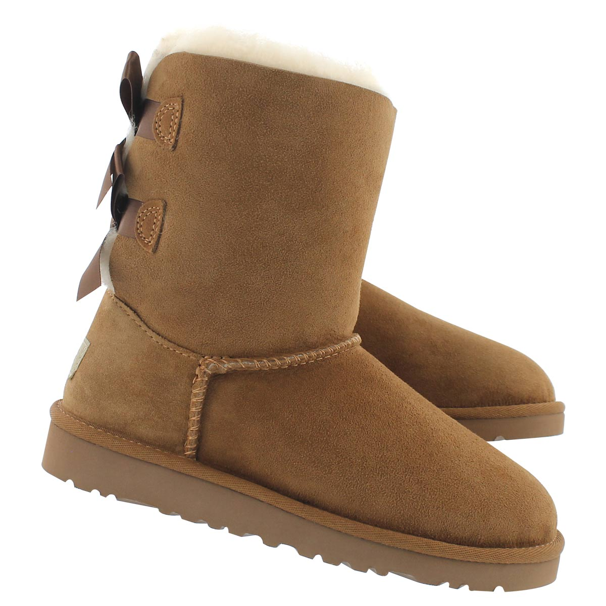 Grls Bailey Bow ches sheepskin boot