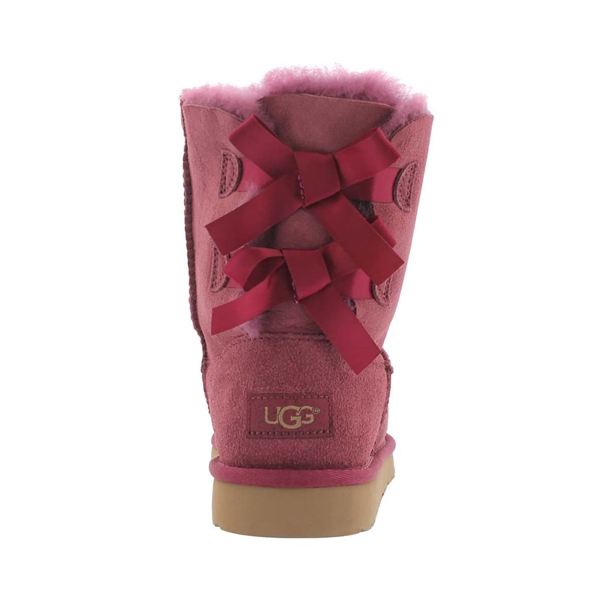 Grls Bailey Bow boug sheepskin boot