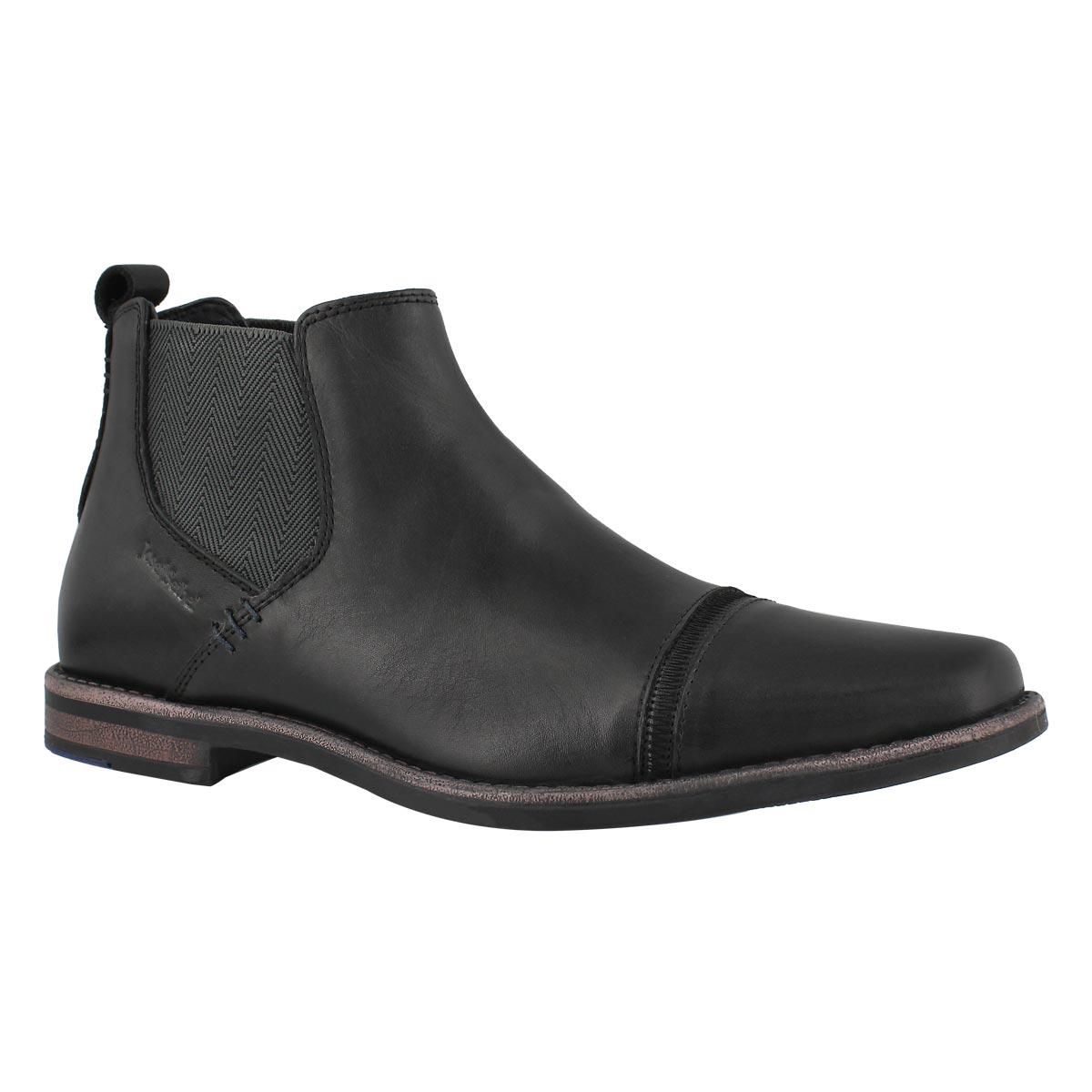 Mns Andrew 23 black slip on dress boot