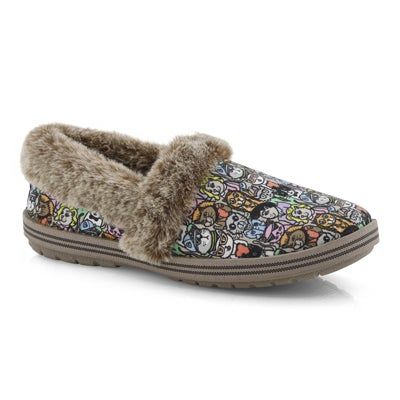 Lds Bobs Too Cozy multicoloured slipper