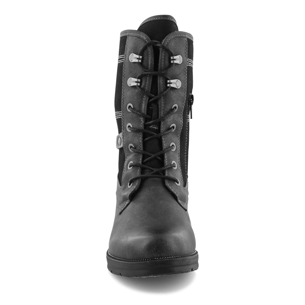 Lds Tanya 06 anthracite wtpf combat boot