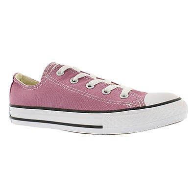 Converse Girls' CT ALL STAR SEASONAL powder purple sneakers