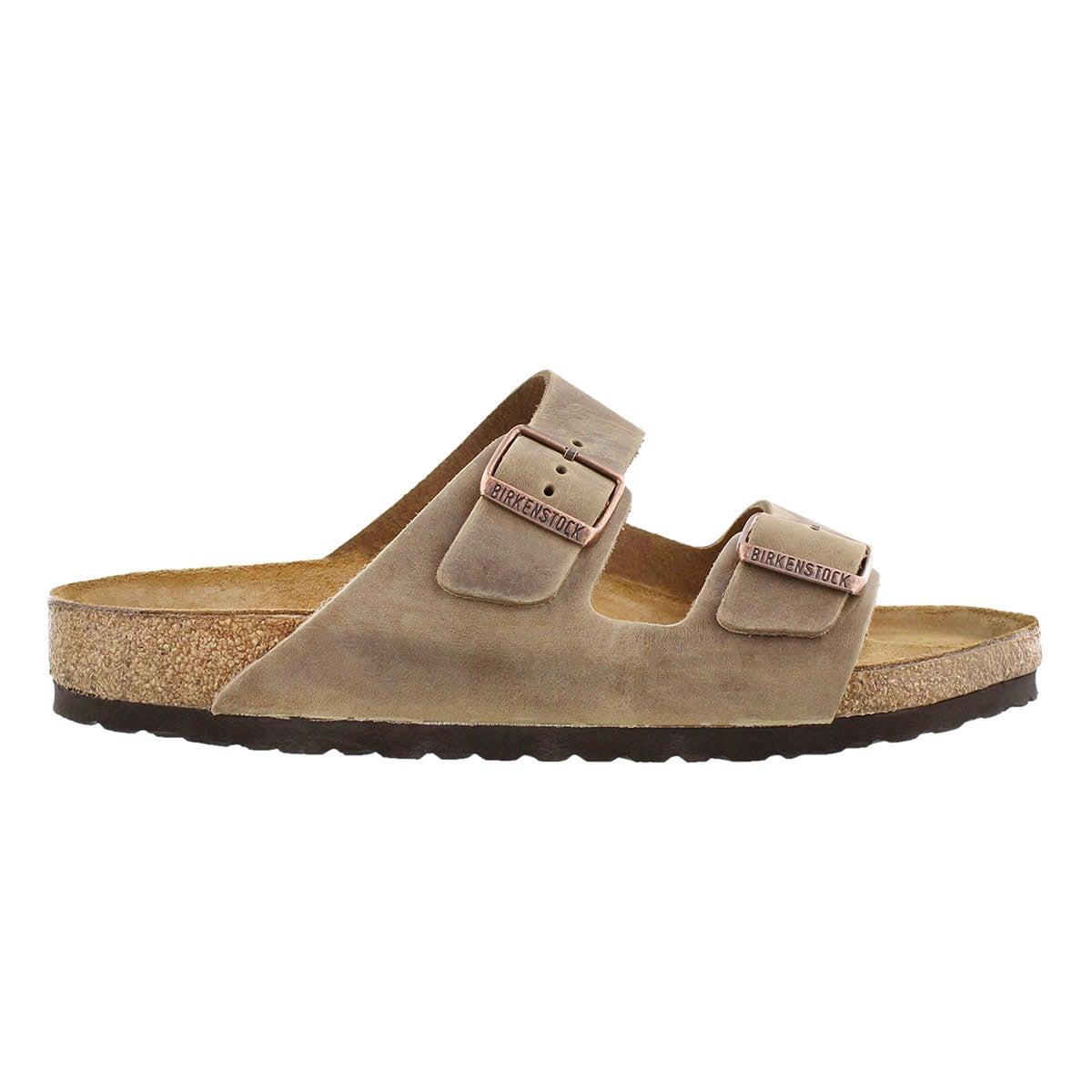 Mns Arizona tobacco 2 strap sandal