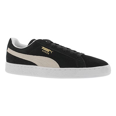 Mns Suede Classic + blk/wht sneaker