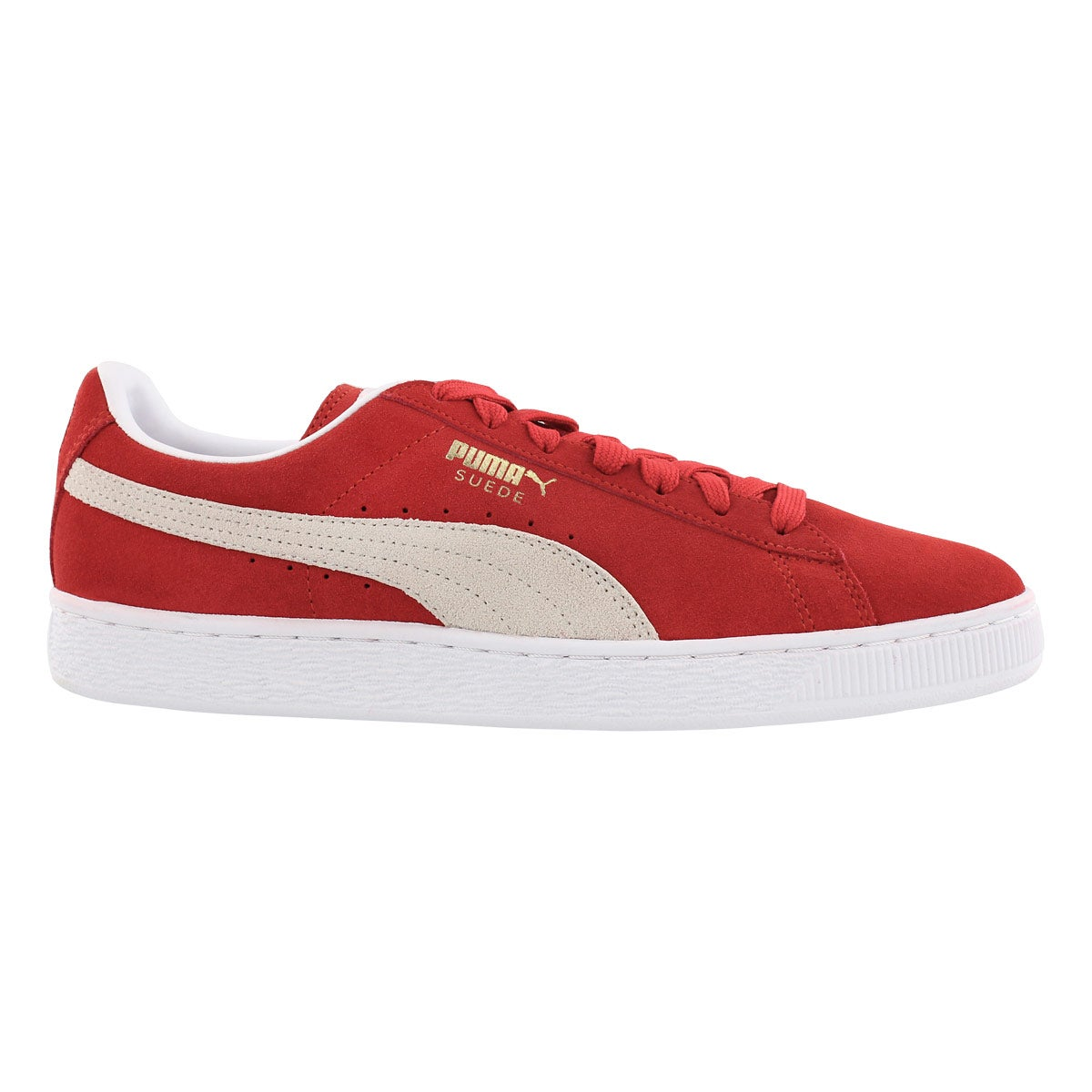 Mns Suede Classic + red/wht sneaker
