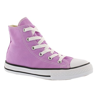 Converse Grils' CT ALL STAR SEASONAL fushia glow high tops