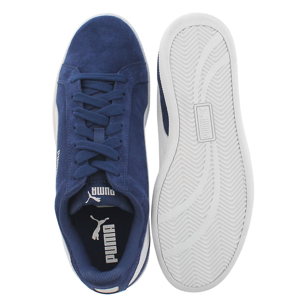 Mns Puma Smash blue/white sneaker