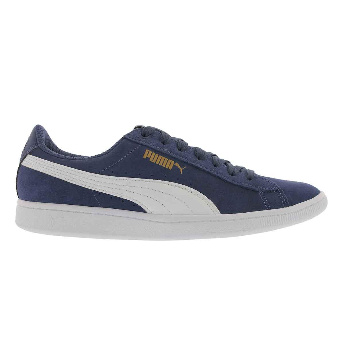 Lds Puma Vikky blue indigo sneaker