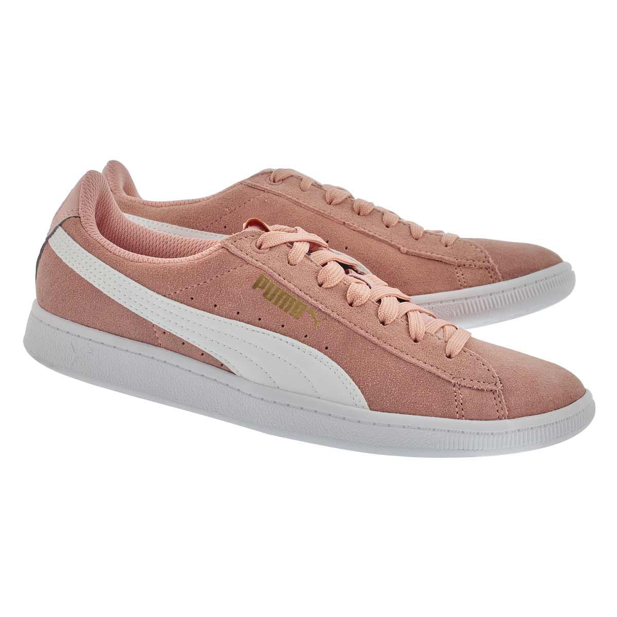 Lds Puma Vikky peach beige sneaker