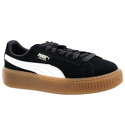 Lds Platform Core blk/wht sneaker