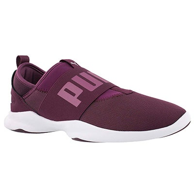 Lds Puma Dare dark purple/white sneaker