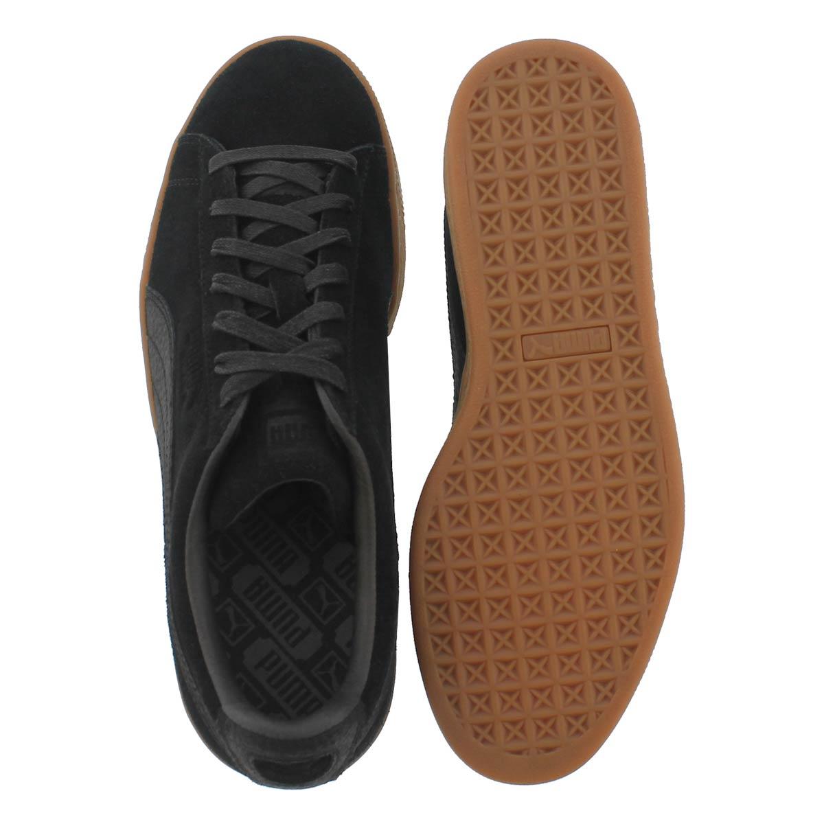 Mns ClassicNaturalWarmth black sneaker