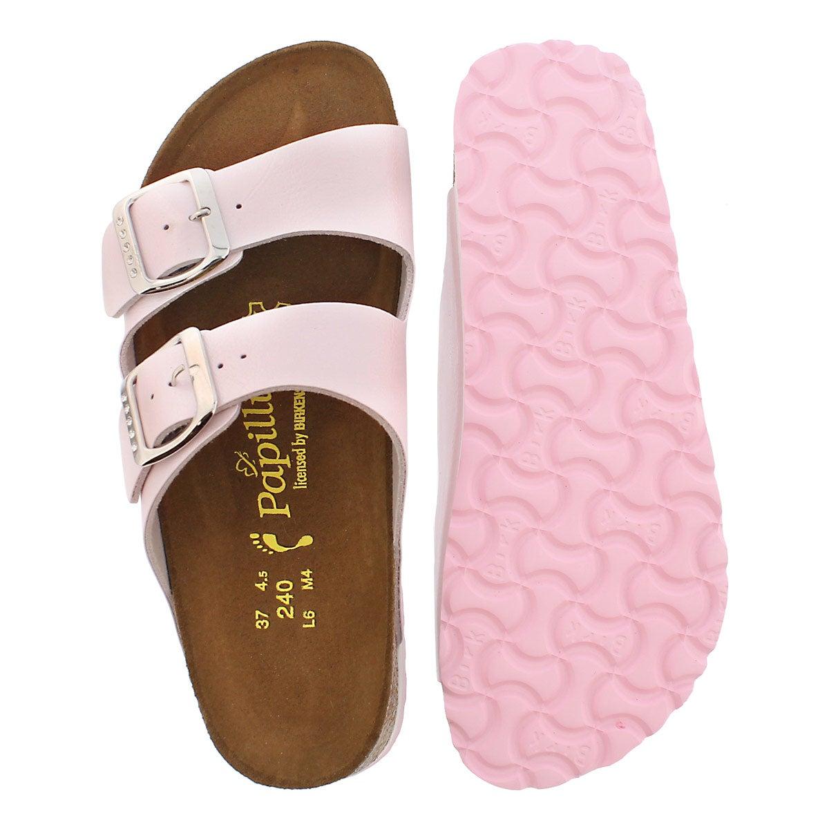 Sandale plateforme ARIZONA, rose, fem