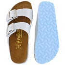 Lds Arizona blue platform sandal-Narrow