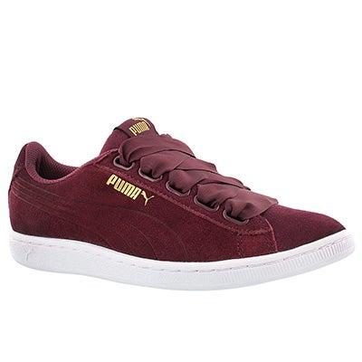 Lds Puma VikkyRibbon tibetan red sneaker