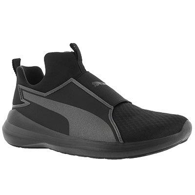 Lds Puma Rebel Mid blk/blk sneaker
