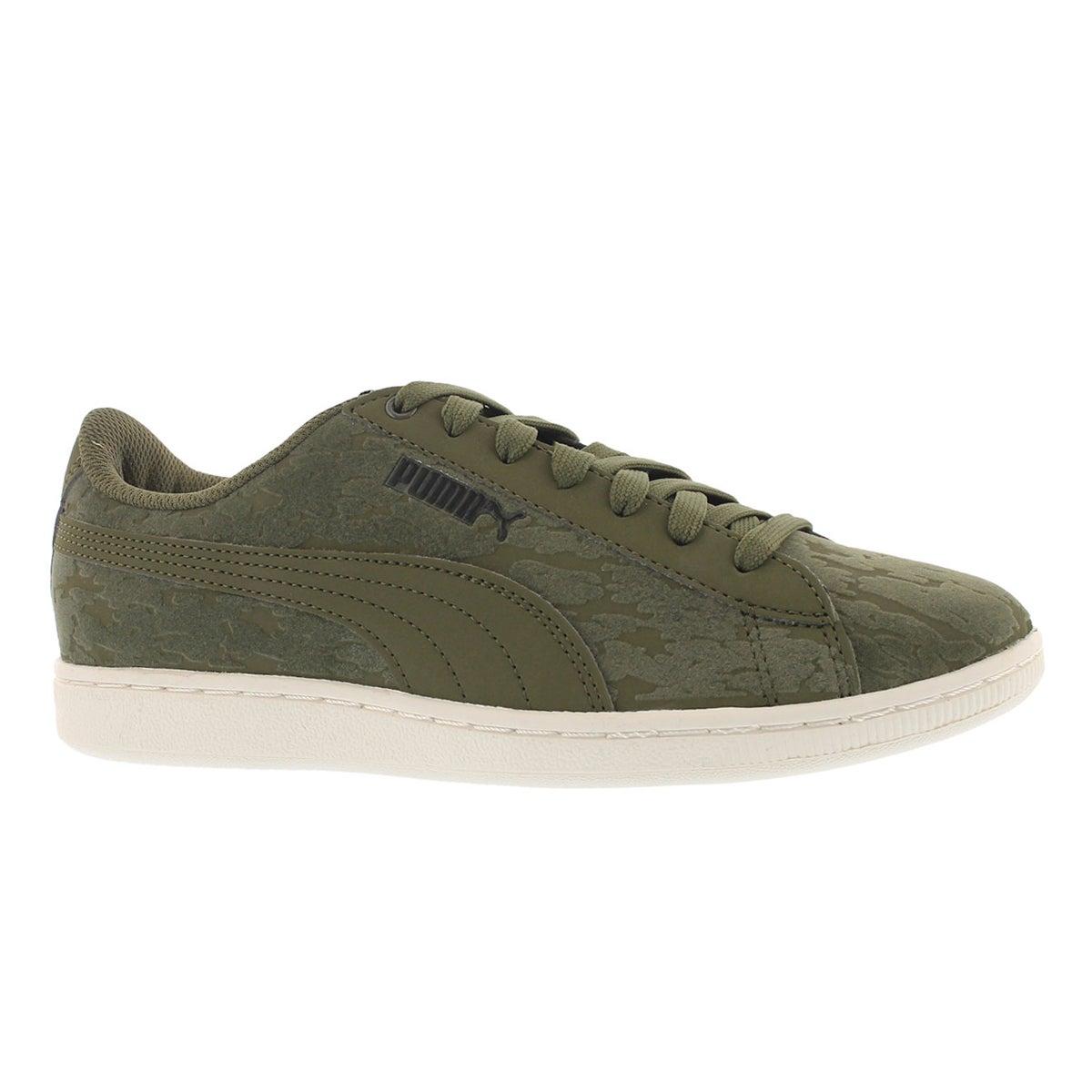Women's VIKKY VELVET ROPE olive sneakers