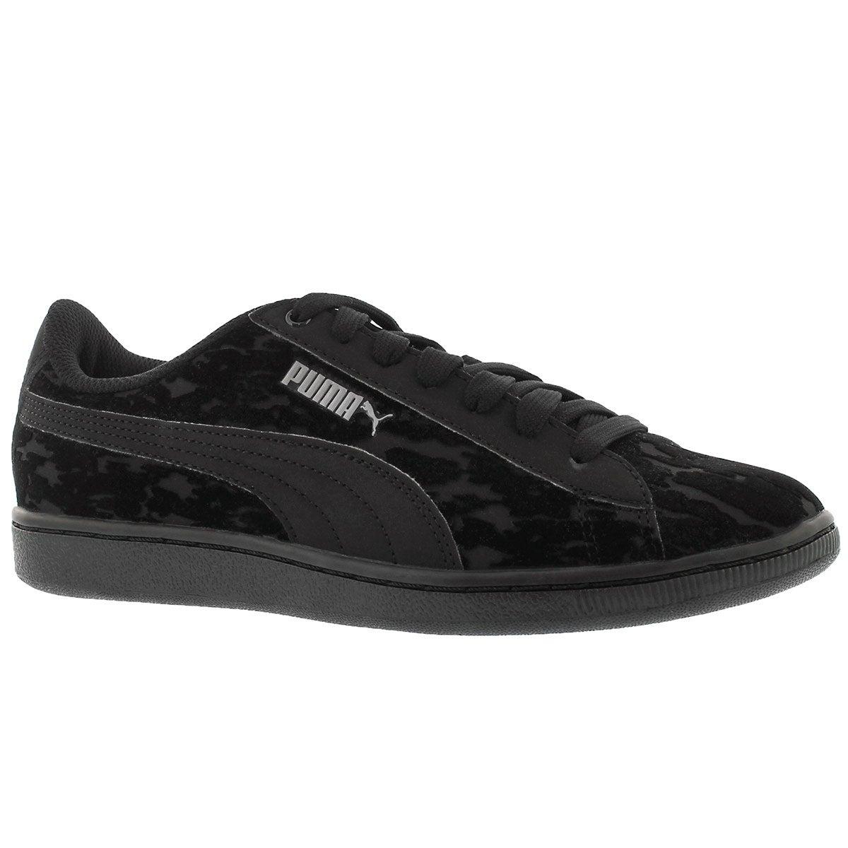 Women's VIKKY VELVET ROPE blk/blk sneakers