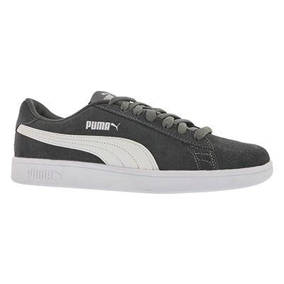 Mns Puma Smash v2 asphalt/wht sneaker