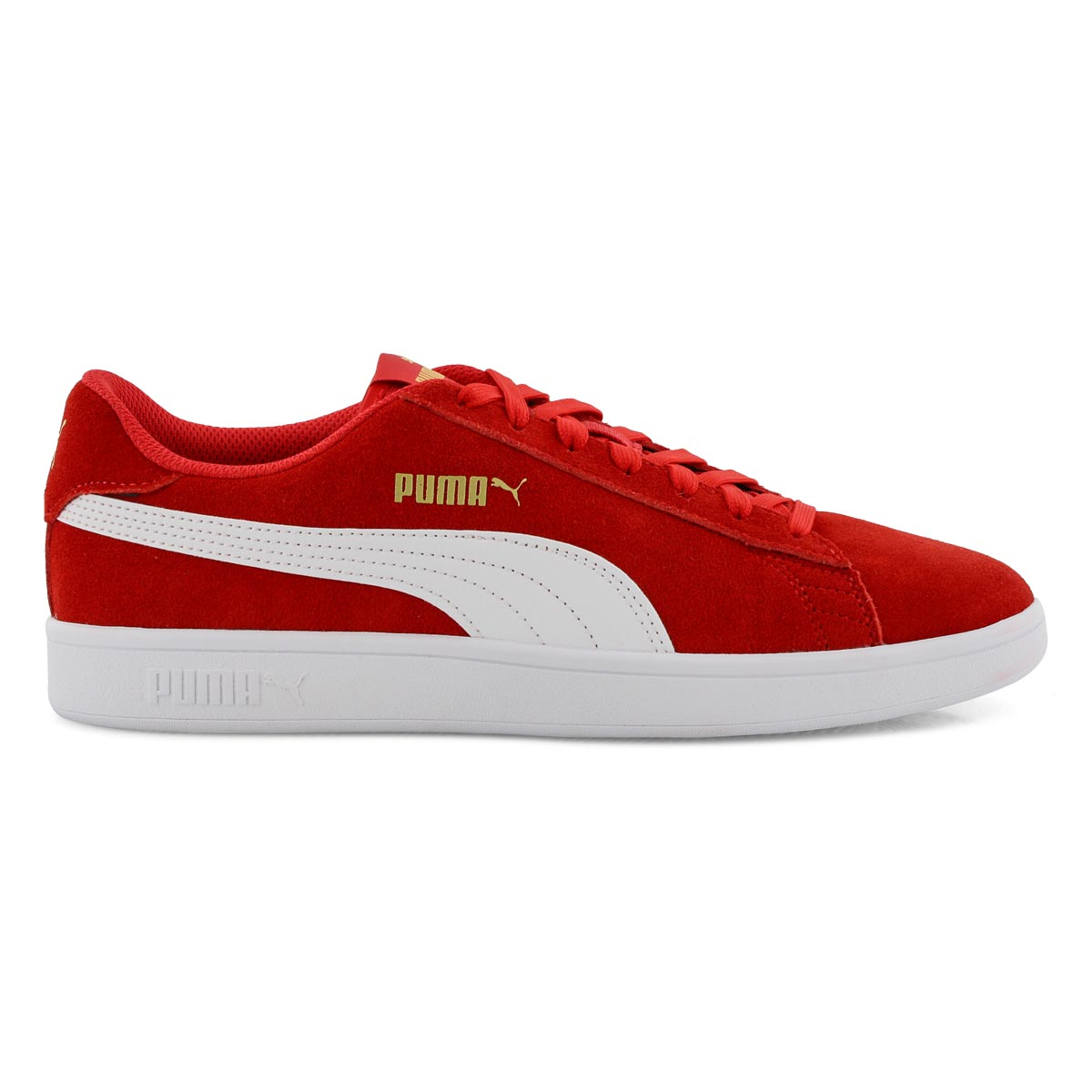 Men's PUMA SMASH v2 redwhite sneakers