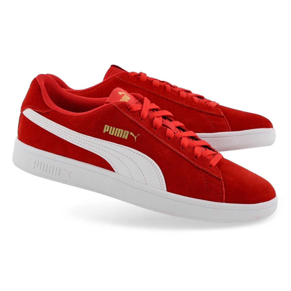 Mns Puma Smash v2 red/white sneaker