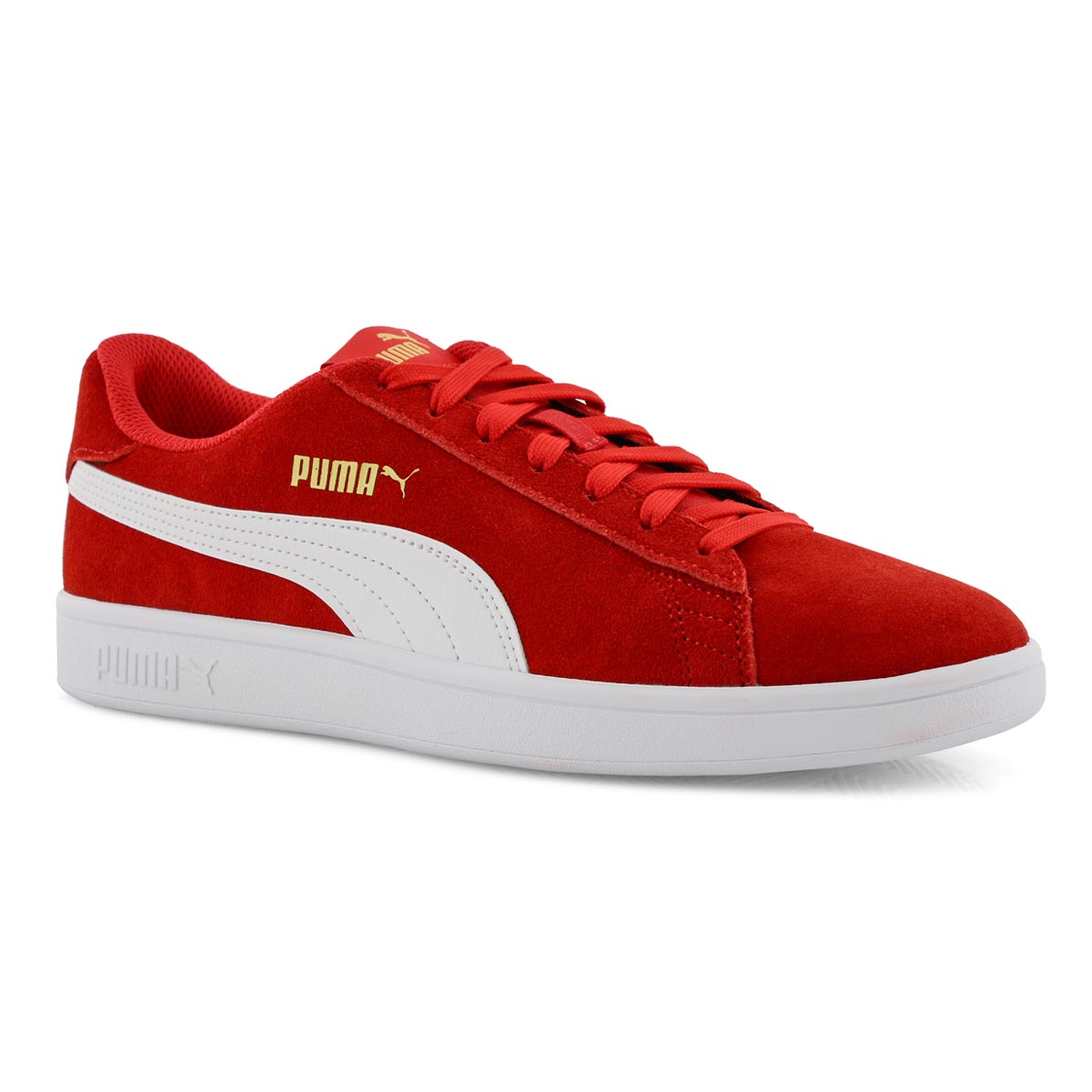 quality design 155b6 93109 Men's PUMA SMASH v2 red/white sneakers