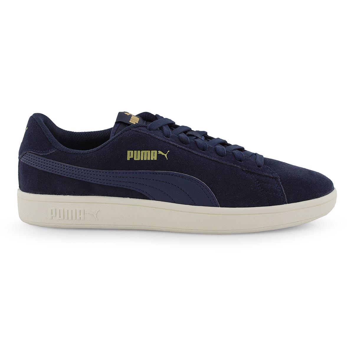 Mns Puma Smash v2 peacoat/gld sneaker