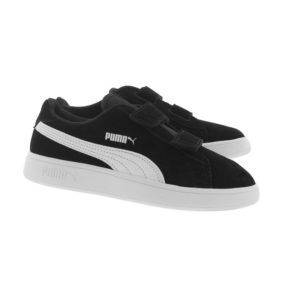 Bys Puma Smash v2 black sneaker