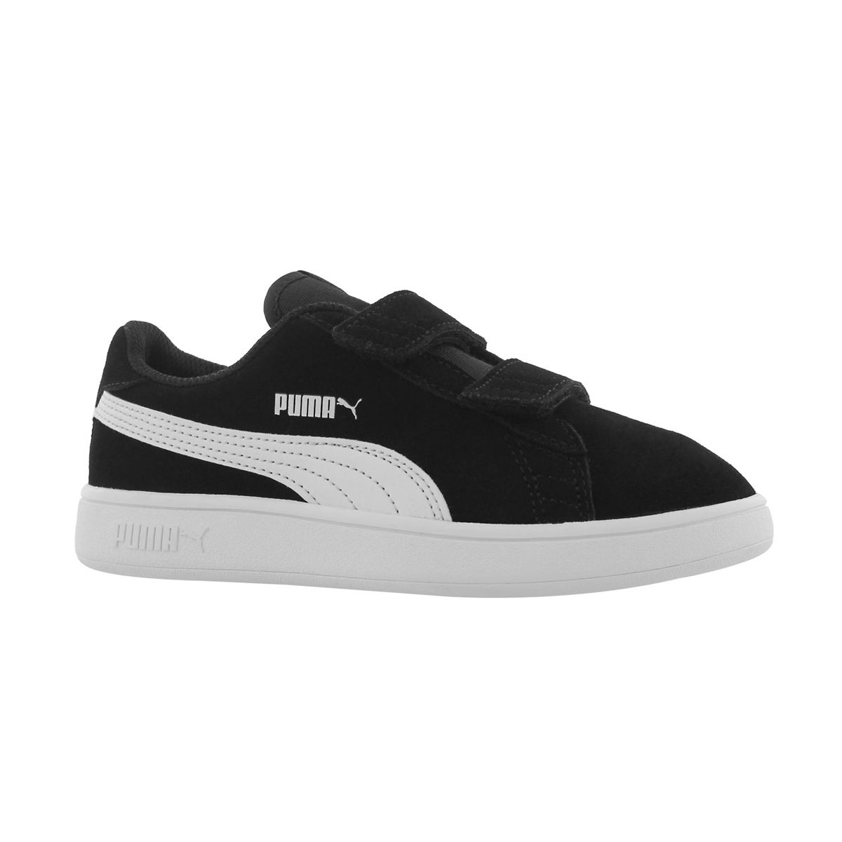 Boys' PUMA SMASH V2 black sneakers