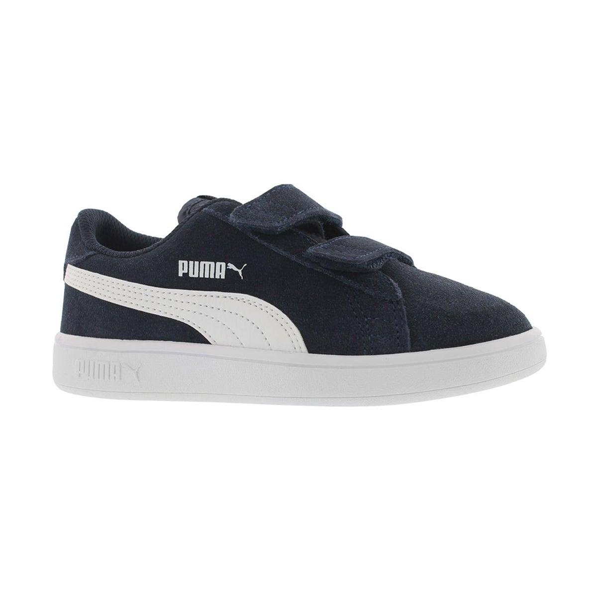 Boys' PUMA SMASH V2 peacoat sneakers