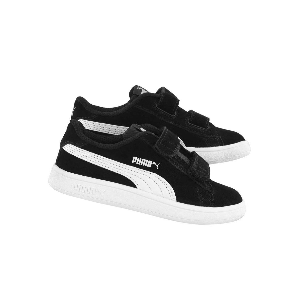 Inf-b Puma Smash v2 black sneaker