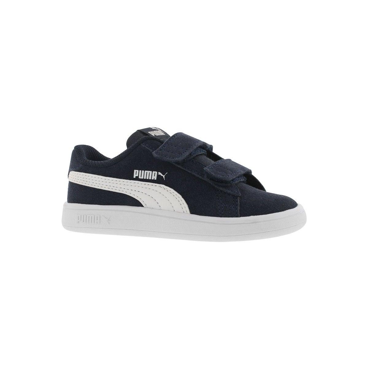 Infants' PUMA SMASH V2 peacoat sneakers