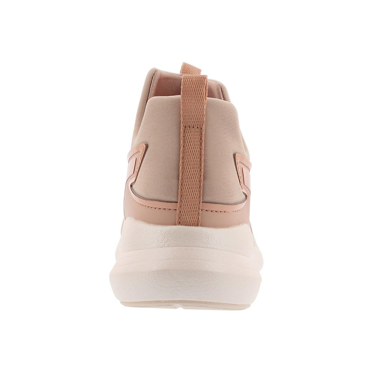 Lds Puma Rebel Mid peach sneaker