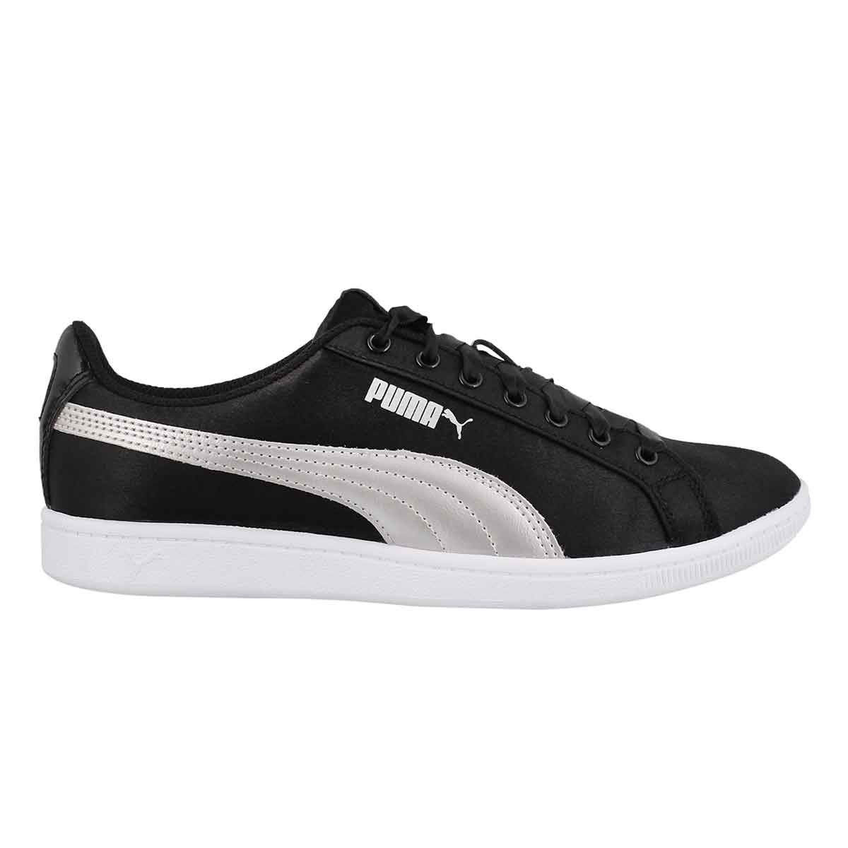Lds Puma Vikky black/silver sneaker