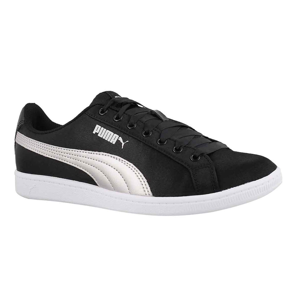 Women's PUMA VIKKY black/silver sneakers