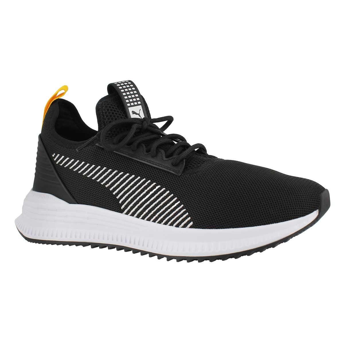 Mns AVID NS blk/yellow slip on sneaker