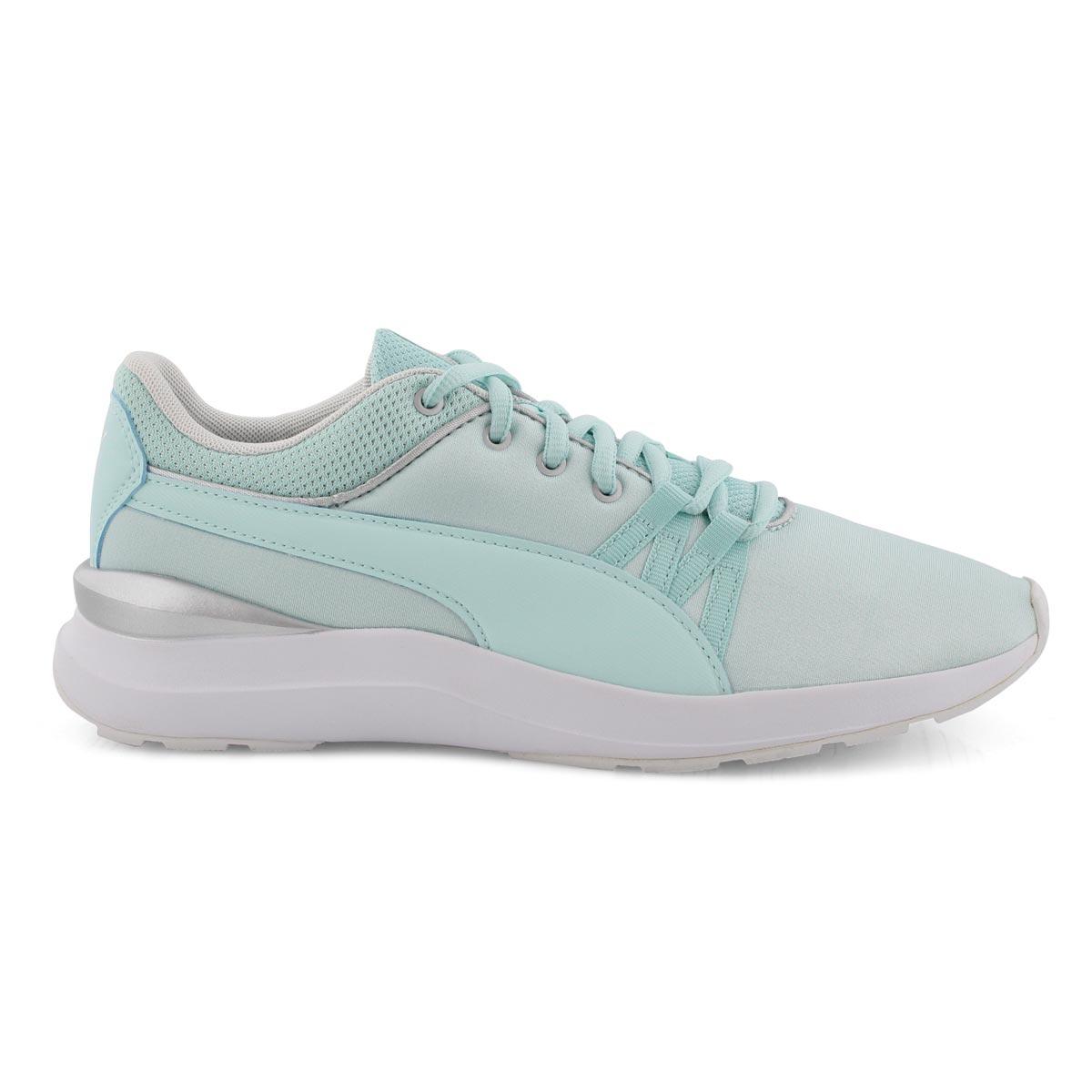 Lds Adela aqua lace up sneaker