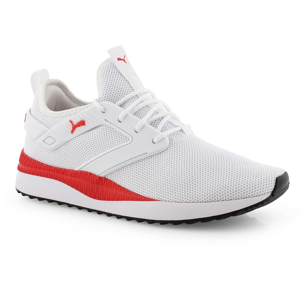 Mns Pacer Next Excel wht/red laceup snkr