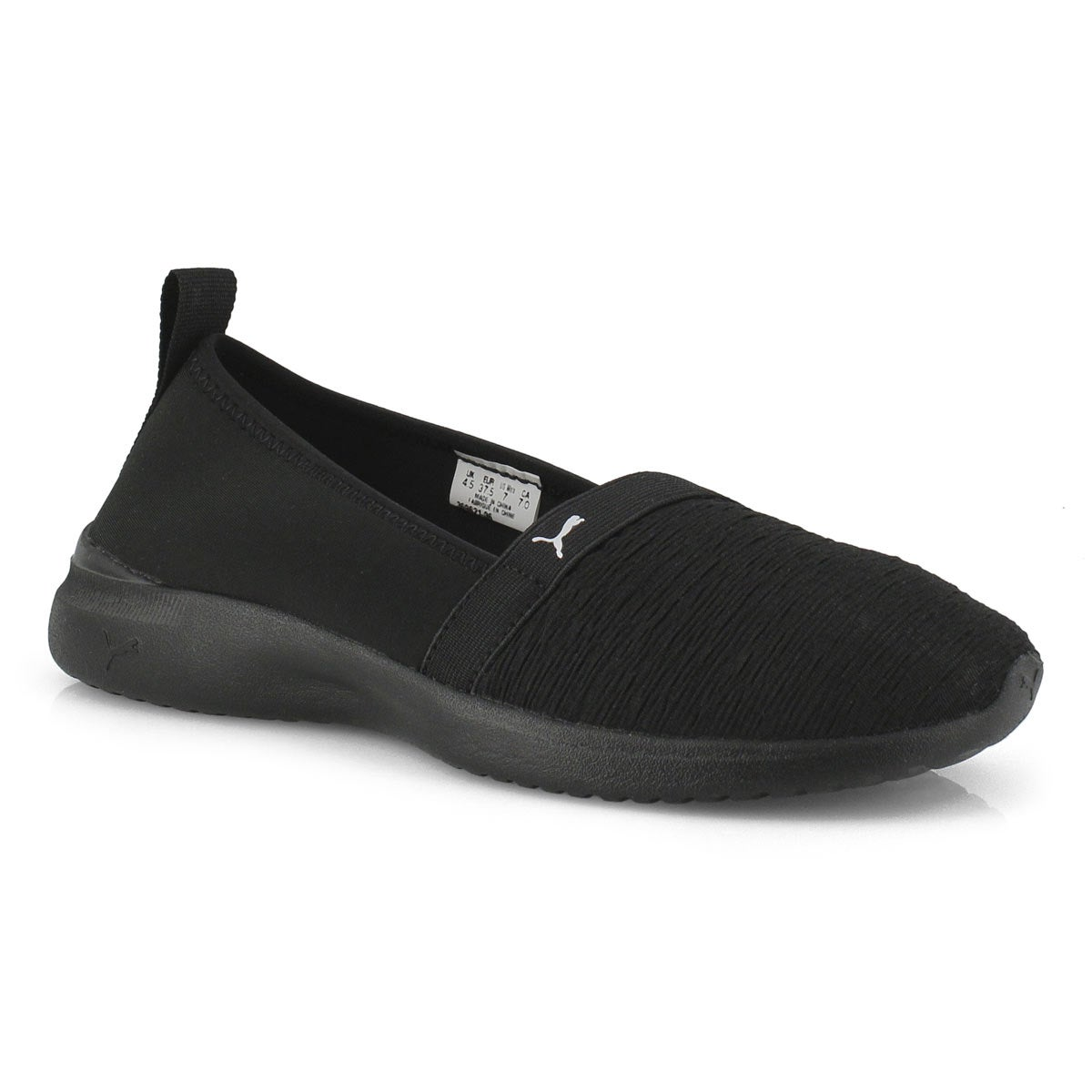 Lds Adelina black/black slip on