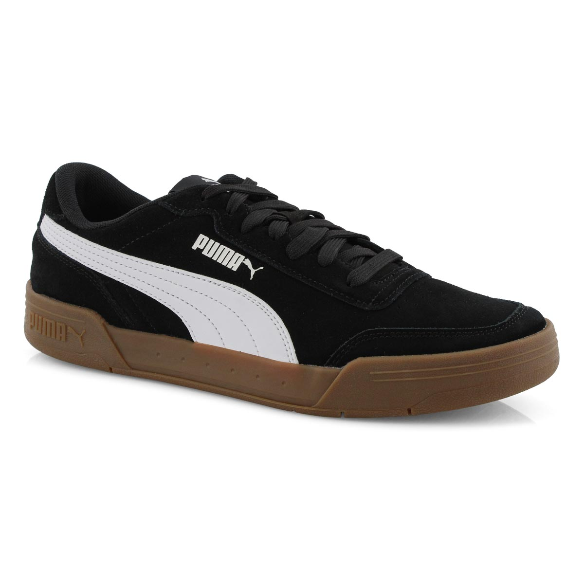 Mns Caracal SD blk/wht lace up sneaker