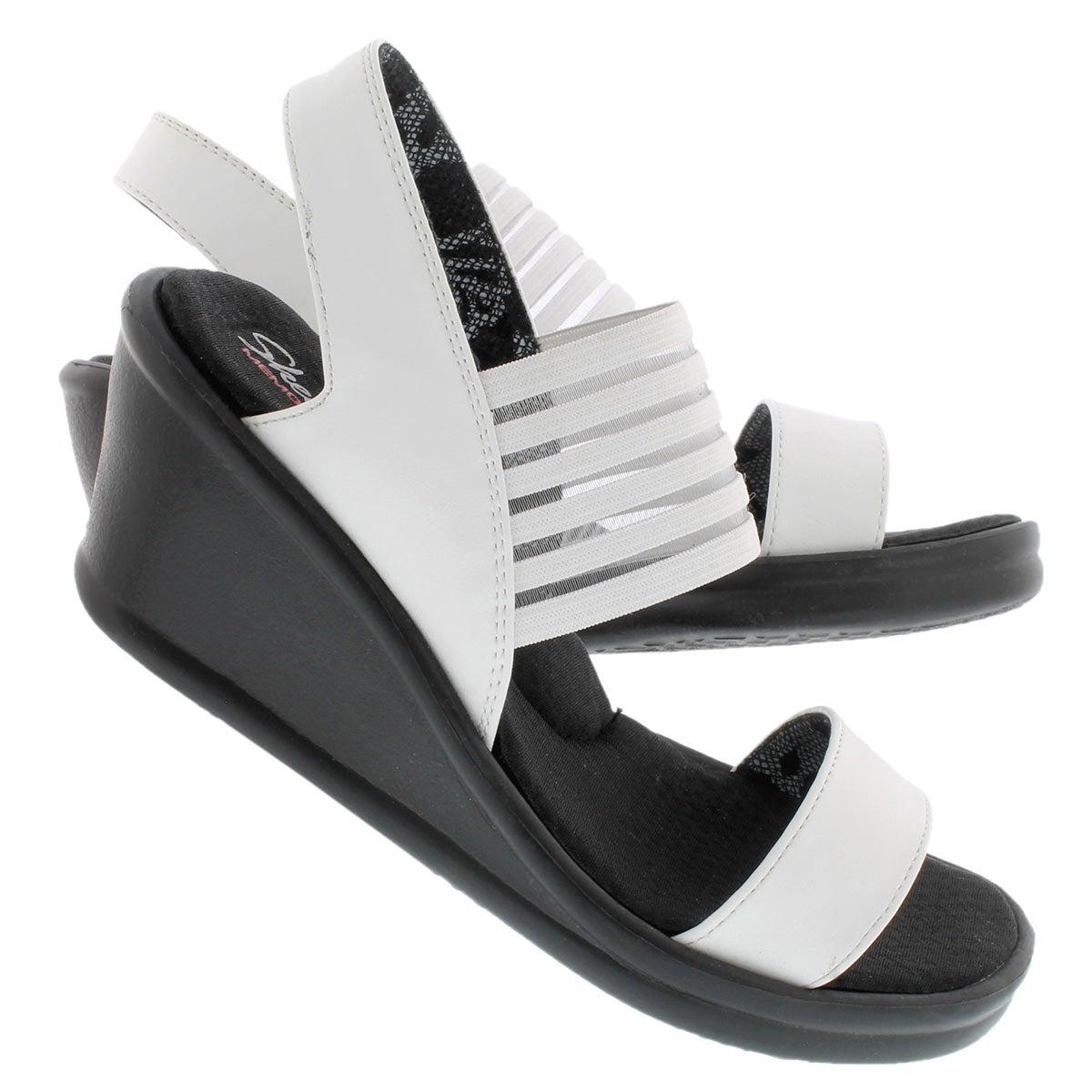 Sandale comp blanc SCI-FI, fem