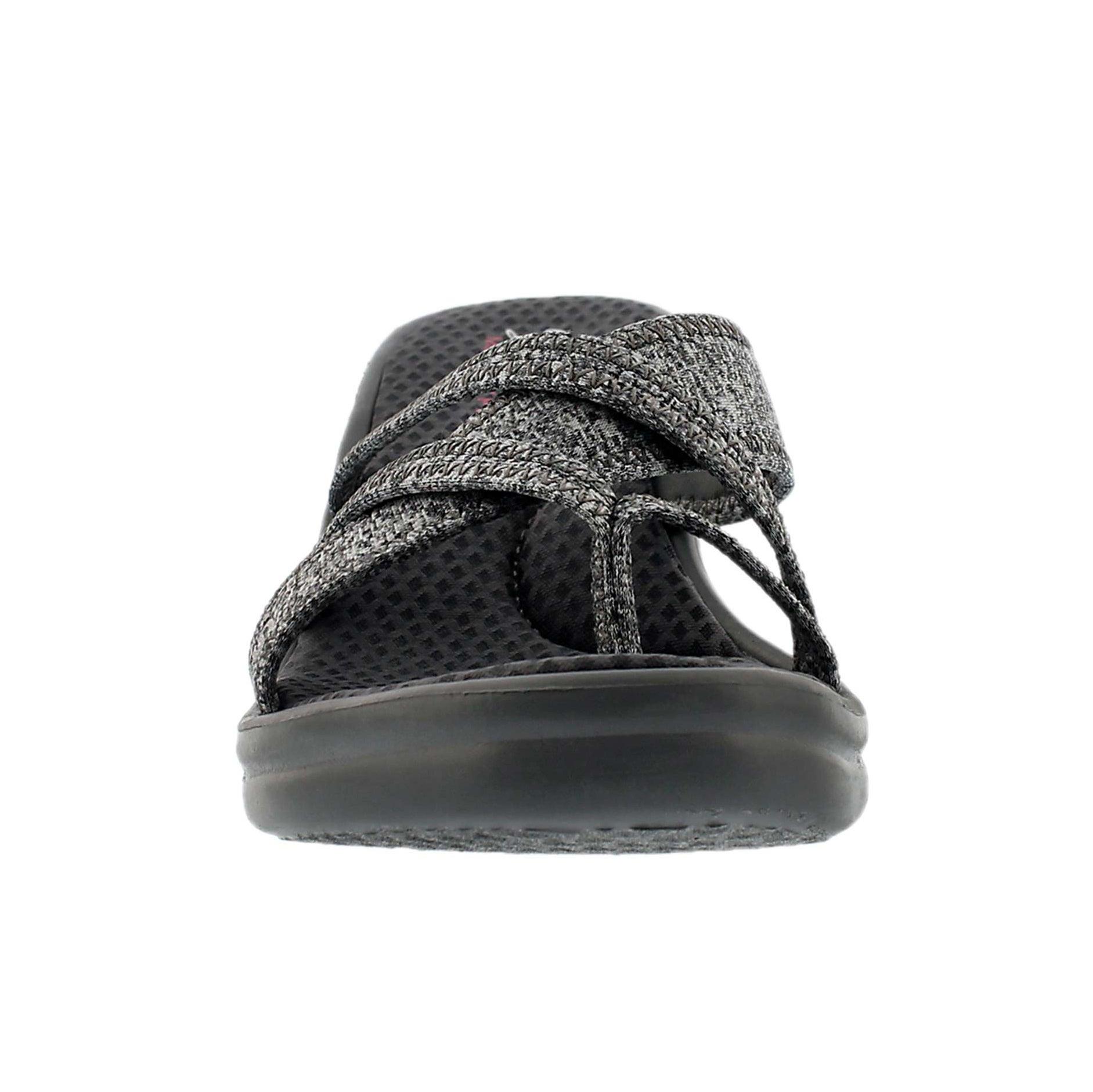 Sandale tong comp gris RUMBLERS, fem