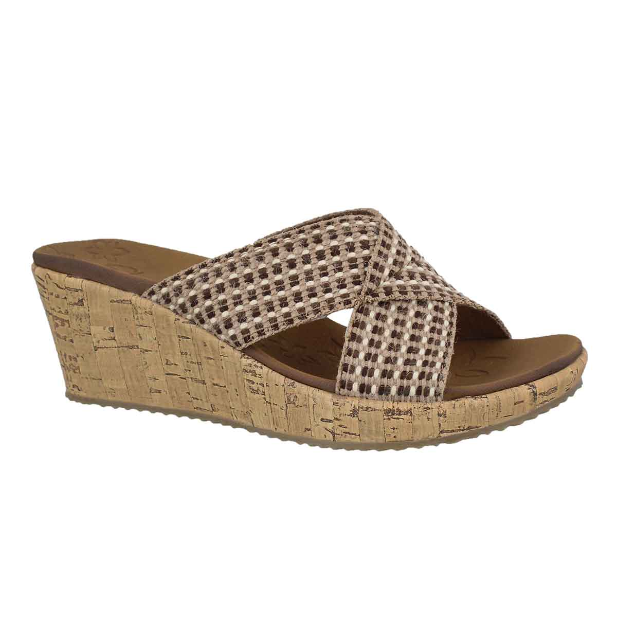 Women's BEVERLEE DELIGHTED natural wedge sandals